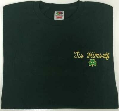 Tis Himself Shamrock T-Shirt