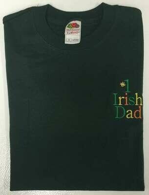 #1 Irish Dad T-Shirt