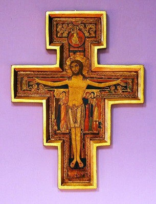"San Damian Cross- 10"""
