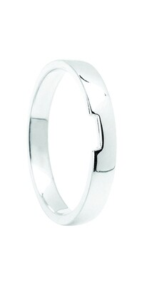 Matching Plain Wedding Band to Fit BO|ENG19-PS-3