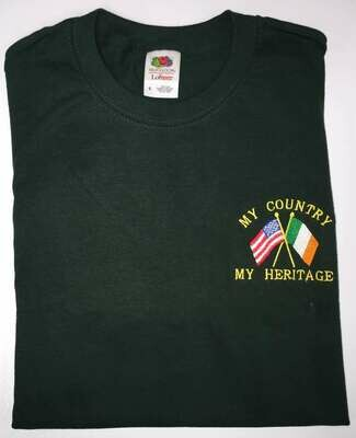 My Country, My Heritage Flags T-Shirt