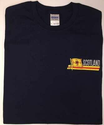 Lion Rampant of Scotland Flag T-Shirt