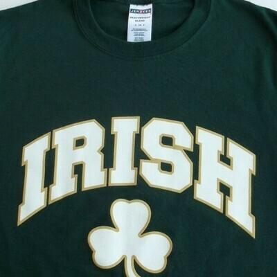 Irish Shamrock Forest Green T-Shirt