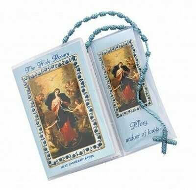 Mary, Undoer of Knots Prayer and Corded Rosary