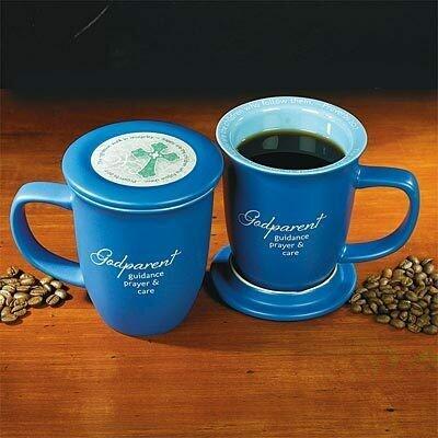 """""""Godparent"""" Mug and Coaster Set"""