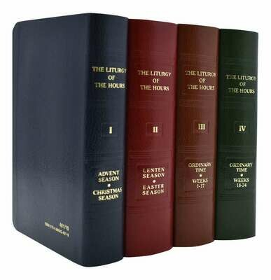 Liturgy of the Hours (Set of 4)