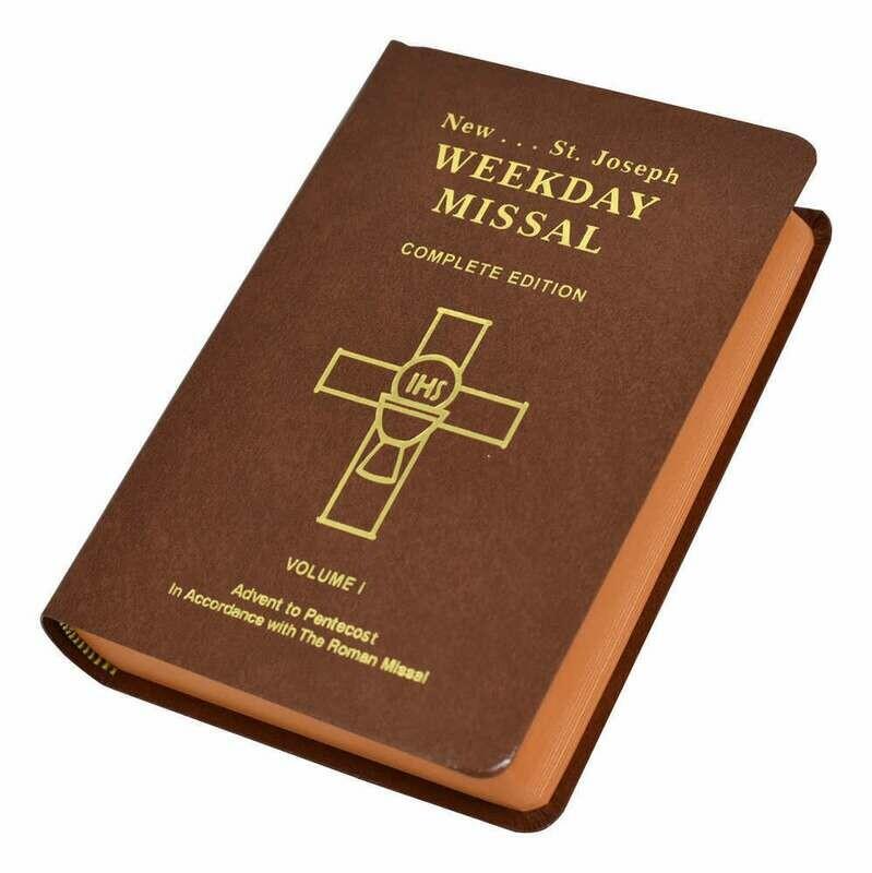 St. Joseph Weekday Missal- Volume I (Advent to Pentecost)