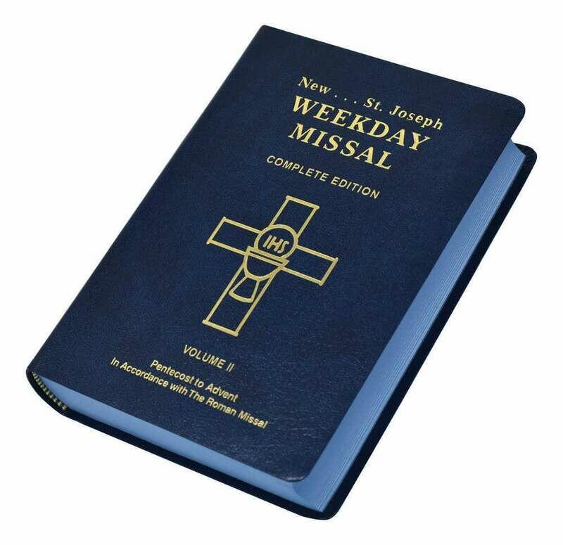 St. Joseph Weekday Missal- Volume II (Pentecost to Advent)