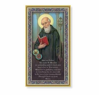 St. Benedict Plaque