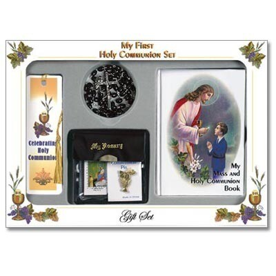 First Holy Communion Deluxe Gift Set Traditional Edition- Boy