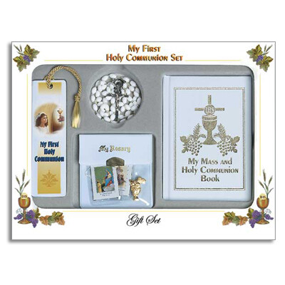 First Holy Communion Deluxe Gift Set- Girl