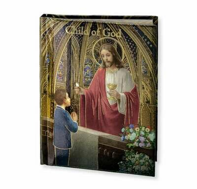 """Child Of God """"Cathedral"""" Edition Boy's Prayer Book"""