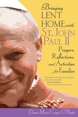 Bringing Lent Home with St. John Paul II Book