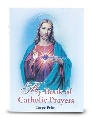 My Book of Catholic Prayers, Large Print
