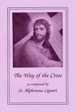 The Way of the Cross by St. Alphonsus Liguori- Large Print Booklet