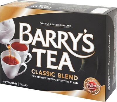 Barry's Classic Blend- 80 Tea Bags