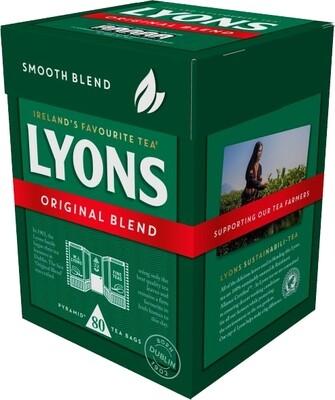 Lyon's Original Blend- 80 Tea Bags