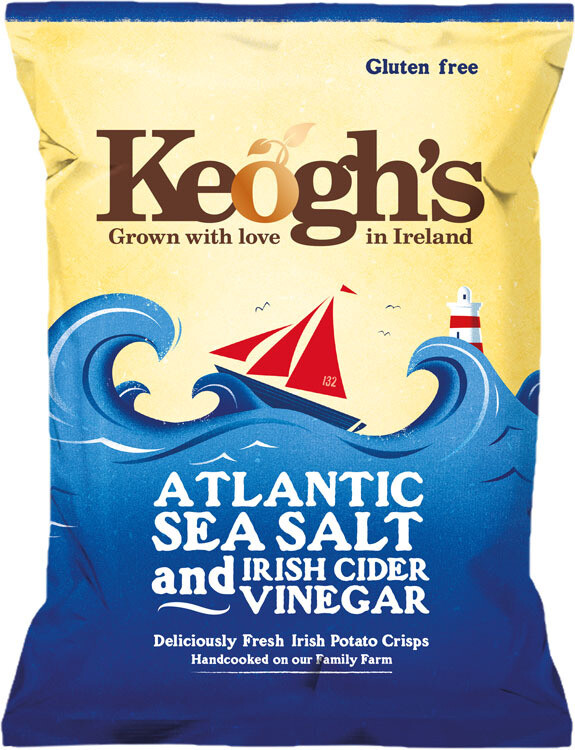 Keoghs Sea Salt & Cider Vinegar Crisps