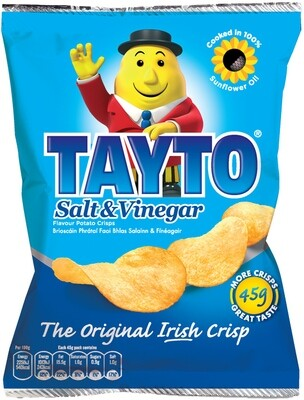 Tayto Salt & Vinegar Crisps