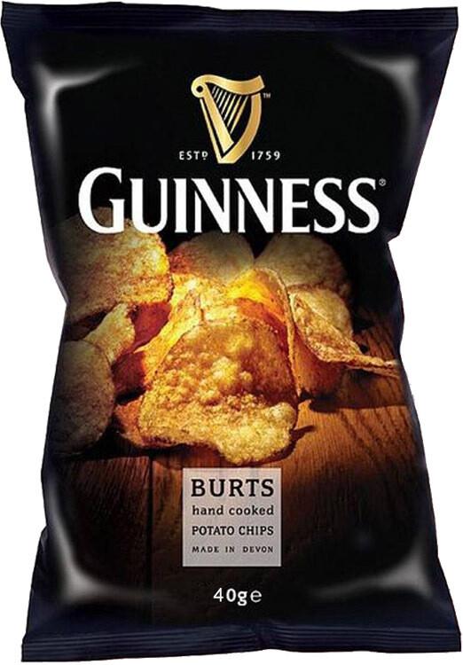 Burts Guinness Crisps