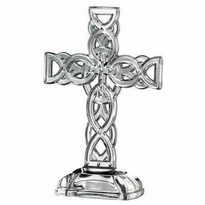 Galway Irish Crystal Celtic Cross