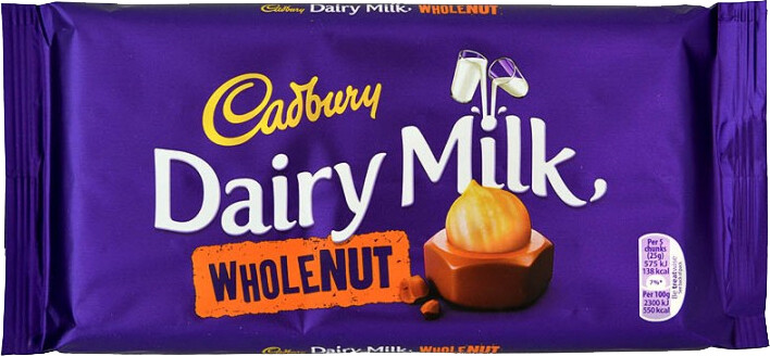 Dairy Milk Wholenut (Large UK)
