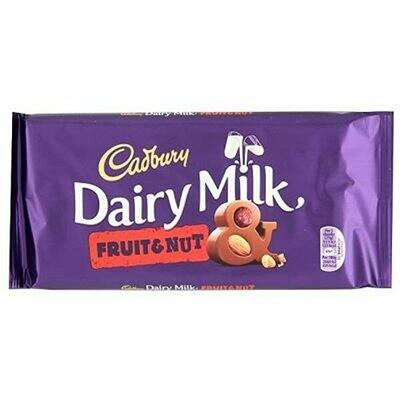 Dairy Milk Fruit & Nut (Large UK)