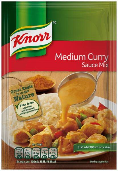 Knorr Medium Curry