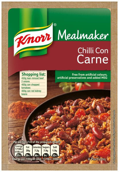 Knorr Mealmaker Chilli