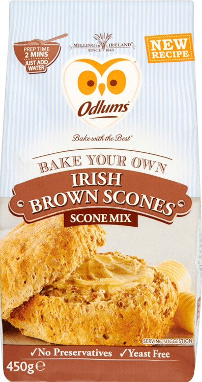 Odlums Irish Brown Scones Mix