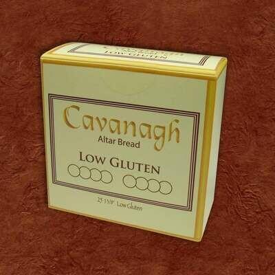 "1 3/8"" Cavanagh® Low Gluten Altar Bread- Box of 25"