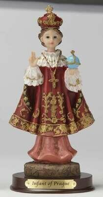 "8"" Infant of Prague Statue"