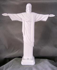 "11"" Christ The Redeemer, White"