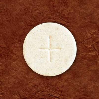"""1 3/8"""" Cavanagh® White Altar Bread, Container of 750"""
