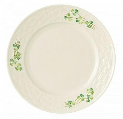 Belleek Shamrock Salad Plate