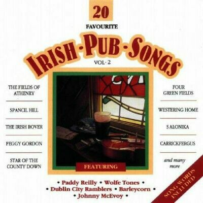 20 Favorite Irish Pub Songs- Volume 2, CD