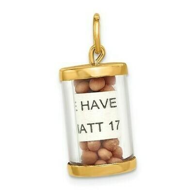14kt. Gold Mustard Seeds Charm
