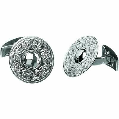 Sterling Silver Original Celtic Warrior® Cufflinks- Large
