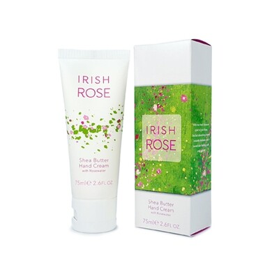 Irish Rose Shea Butter Hand Cream 75ml/2.6 fl. oz.