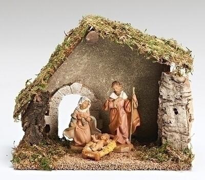 """5"""" Fontanini 3-Piece Nativity Set"""