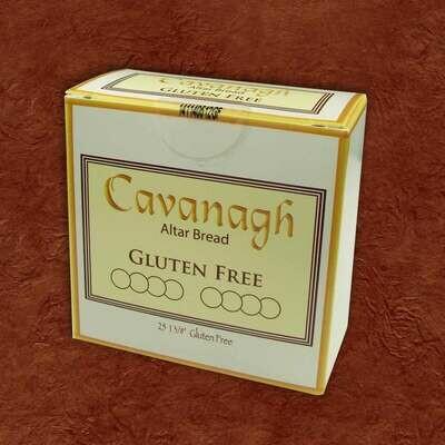 "1 3/8"" Cavanagh® Gluten Free Altar Bread, Box of 25"