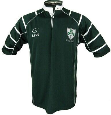 Shamrock Ireland Breathable Rugby Shirt