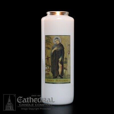 St. Peregrine, Case of 12 Candles