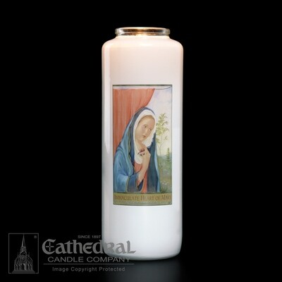 Immaculate Heart of Mary, Case of 12 Candles