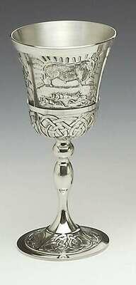 Mullingar Pewter Mythical Ireland Goblet- Queen Maeve