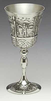 Mullingar Pewter Mythical Ireland Goblet- King Lugh