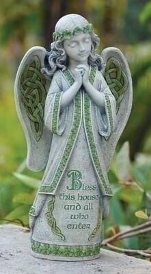 Irish Angel Garden Statue
