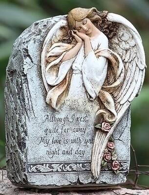 Memorial Angel Garden Stone