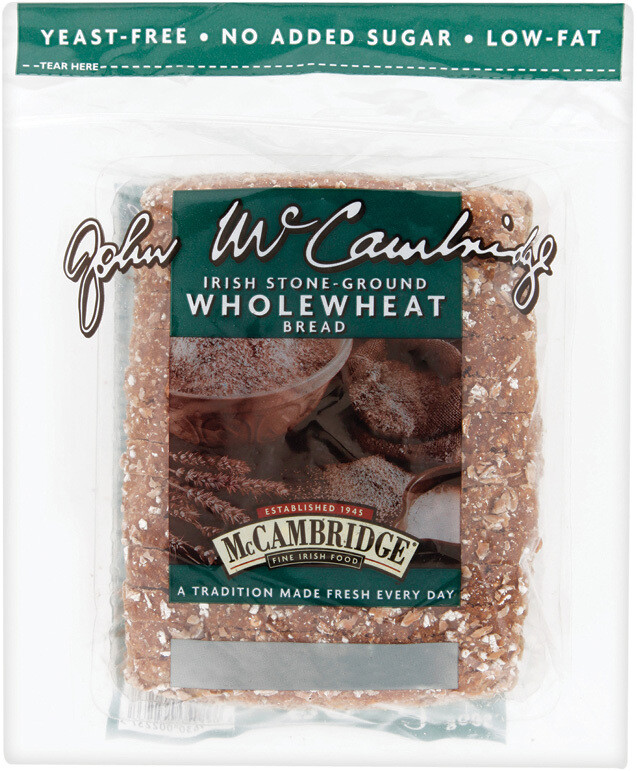 McCambridge Wholewheat Brown Bread