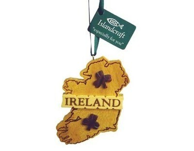 Irish Map Ornament